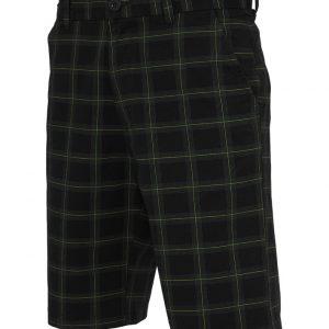 Pantalon scurt in carouri negru-gri Urban Classics - Pantaloni scurti - Urban Classics>Barbati>Pantaloni scurti