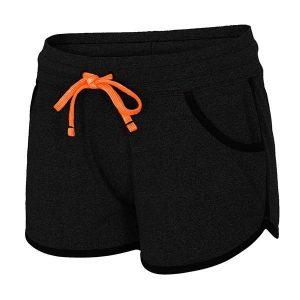 Pantalon sport de dama 4f Black - Haine si accesorii - Colanti  pantaloni  pantaloni scurti