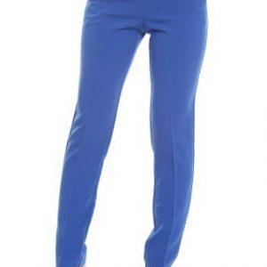 Pantaloni albastri cu talie inalta AM-30402 - Outlet -