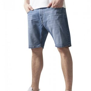 Pantaloni denim scurti prespalat Urban Classics - Pantaloni scurti - Urban Classics>Barbati>Pantaloni scurti