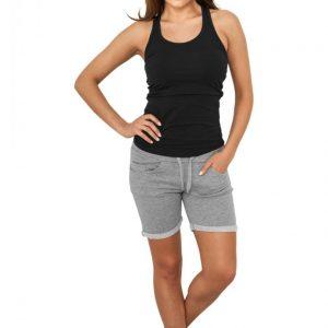 Pantaloni scurti fitness femei gri Urban Classics - Pantaloni scurti - Urban Classics>Femei>Pantaloni scurti