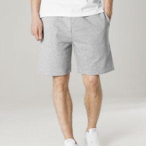 Pantaloni scurti talie elastica gri Urban Classics - Pantaloni scurti - Urban Classics>Barbati>Pantaloni scurti