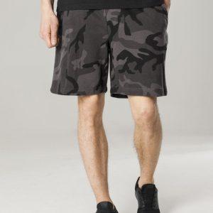 Pantaloni scurti talie elastica inchis-camuflaj Urban Classics - Pantaloni scurti - Urban Classics>Barbati>Pantaloni scurti