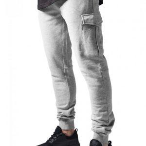Pantaloni sport Fitted Cargo gri Urban Classics - Pantaloni cargo - Urban Classics>Barbati>Pantaloni cargo