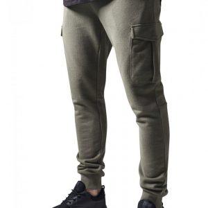 Pantaloni sport Fitted Cargo oliv Urban Classics - Pantaloni cargo - Urban Classics>Barbati>Pantaloni cargo
