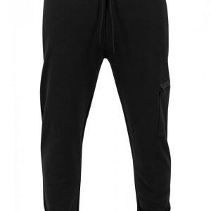 Pantaloni sport conici cu snur Athletic negru Urban Classics - Pantaloni trening - Urban Classics>Barbati>Pantaloni trening