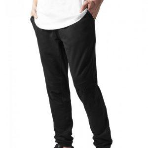 Pantaloni sport cu turul jos Terry Biker negru Urban Classics - Pantaloni trening - Urban Classics>Barbati>Pantaloni trening