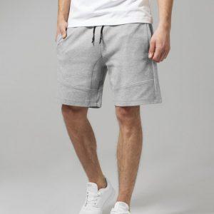 Pantaloni sport scurti Interlock gri Urban Classics - Pantaloni scurti - Urban Classics>Barbati>Pantaloni scurti