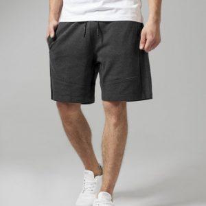 Pantaloni sport scurti Interlock gri carbune Urban Classics - Pantaloni scurti - Urban Classics>Barbati>Pantaloni scurti