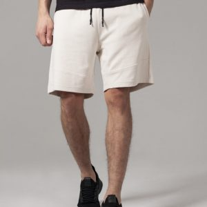 Pantaloni sport scurti Interlock nisip Urban Classics - Pantaloni scurti - Urban Classics>Barbati>Pantaloni scurti