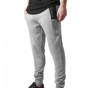 Pantaloni sport urban Tech gri-negru Urban Classics - Pantaloni trening - Urban Classics>Barbati>Pantaloni trening