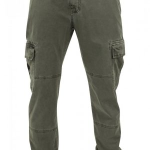 Pantaloni urban cargo cu buzunare oliv Urban Classics - Pantaloni cargo - Urban Classics>Barbati>Pantaloni cargo