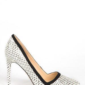 Pantofi EXPA88625 Alb/Negru - Incaltaminte - Incaltaminte / Pantofi cu toc