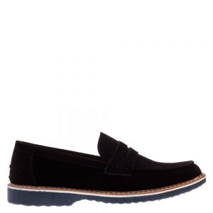 Pantofi barbati Clark negri fara sireturi - Incaltaminte Barbati - Pantofi Barbati