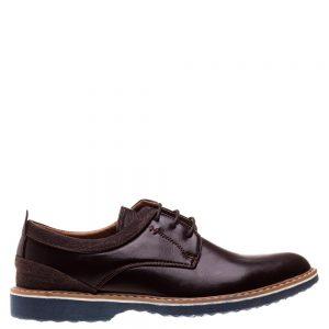 Pantofi barbati Nico maro - Incaltaminte Barbati - Pantofi Barbati