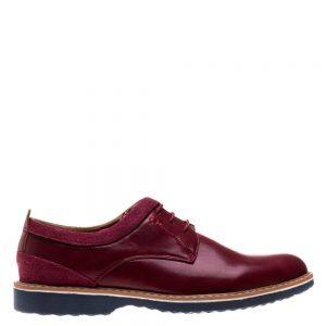 Pantofi barbati Nico rosii - Incaltaminte Barbati - Pantofi Barbati