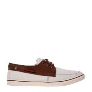 Pantofi barbati Paul albi - Incaltaminte Barbati - Pantofi Barbati