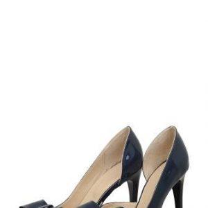 Pantofi bleumarin din piele naturala 67 - Outlet -