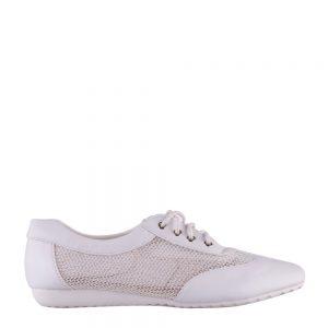 Pantofi dama Astrid albi - Incaltaminte Dama - Pantofi Dama