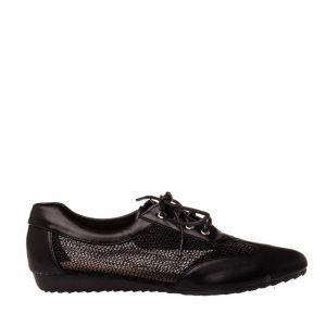 Pantofi dama Astrid negri - Incaltaminte Dama - Pantofi Dama