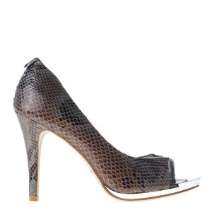 Pantofi dama Bria argintii - Incaltaminte Dama - Pantofi Dama