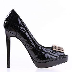 Pantofi dama Dawn negri - Incaltaminte Dama - Pantofi Dama