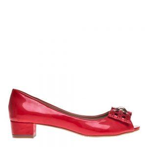 Pantofi dama Eneida rosii - Incaltaminte Dama - Pantofi Dama