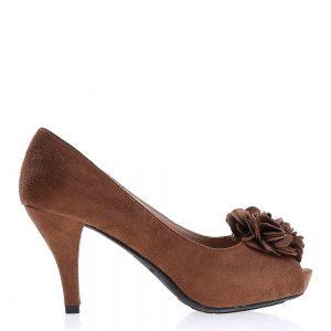 Pantofi dama Fannie bej - Incaltaminte Dama - Pantofi Dama