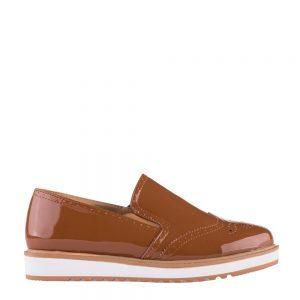 Pantofi dama Florez camel - Incaltaminte Dama - Pantofi Dama