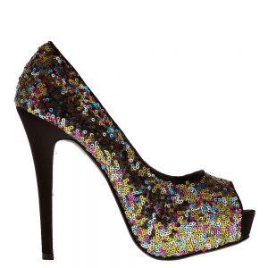 Pantofi dama Katia aurii - Incaltaminte Dama - Pantofi Dama