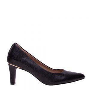 Pantofi dama Lynne negri - Incaltaminte Dama - Pantofi Dama