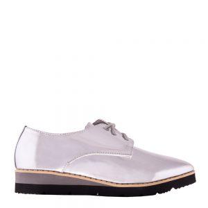 Pantofi dama Najira argintii - Incaltaminte Dama - Pantofi Dama