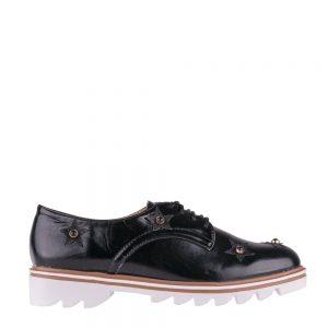 Pantofi dama Nunila negri - Incaltaminte Dama - Pantofi Dama