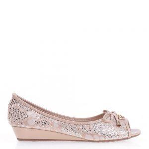 Pantofi dama Oprah bej - Incaltaminte Dama - Pantofi Dama