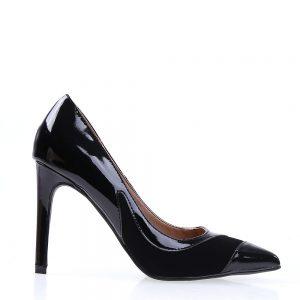 Pantofi dama Palermo 1 negri - Incaltaminte Dama - Pantofi Dama
