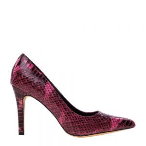 Pantofi dama Rosalina grena - Incaltaminte Dama - Pantofi Dama