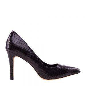 Pantofi dama Rosalina negri - Incaltaminte Dama - Pantofi Dama