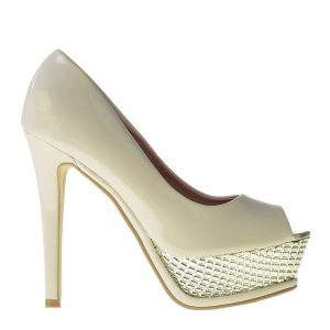 Pantofi dama Saira bej - Incaltaminte Dama - Pantofi Dama