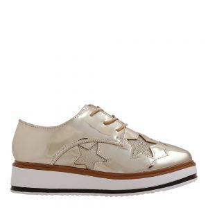 Pantofi dama Shirley aurii - Incaltaminte Dama - Pantofi Dama