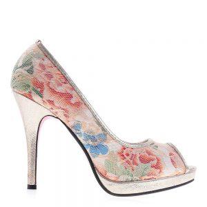 Pantofi dama Shyrley taupe - Incaltaminte Dama - Pantofi Dama