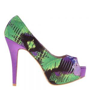 Pantofi dama Susanne mov - Incaltaminte Dama - Pantofi Dama