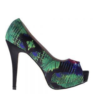 Pantofi dama Susanne negri - Incaltaminte Dama - Pantofi Dama