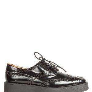 Pantofi oxford perforati Negru - Incaltaminte - Incaltaminte / Pantofi fara toc