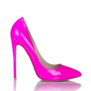 Pantofi roz cu toc Roz - Incaltaminte - Incaltaminte / Pantofi cu toc