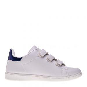 Pantofi sport copii Matei alb albastru cu scai - Incaltaminte Copii - Pantofi Sport Copii