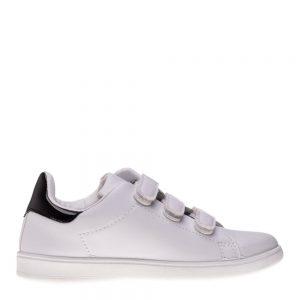 Pantofi sport copii Matei alb negru cu scai - Incaltaminte Copii - Pantofi Sport Copii