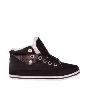 Pantofi sport copii Perseus negri - Incaltaminte Copii - Pantofi Sport Copii