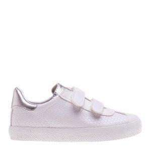 Pantofi sport copii Pinchi albi cu argintiu - Incaltaminte Copii - Pantofi Sport Copii