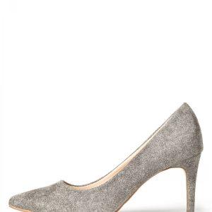 Pantofi stiletto din stofa gri de lana Gri - Incaltaminte - Incaltaminte / Pantofi cu toc