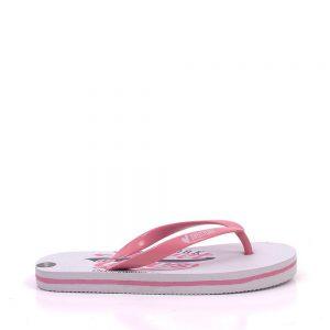Papuci copii 5211 albi cu roz - Incaltaminte Copii - Papuci copii